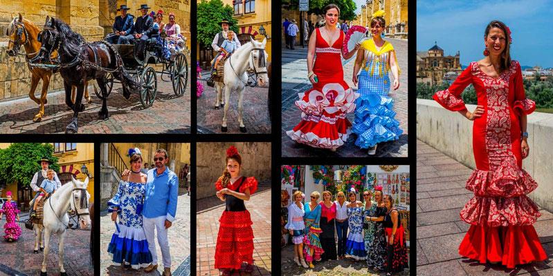Bildband Andalusien, Reisefuehrer, Reisebildband, Guide, Raimund Franken, Feria de Cordoba