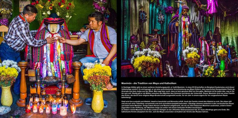 Bildband Guatemala, Reisefuehrer, Reisebildband, Raimund Franken, Maximon
