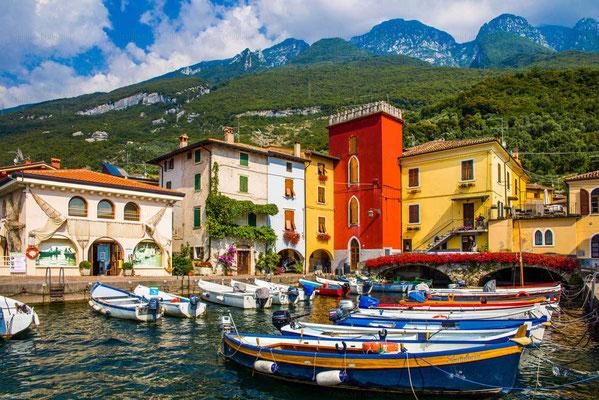 Reise-Bildband Tessin, Lombardei, Venetien durch die Schweiz und Oberitalien - vom Gotthardpass nach Venedig