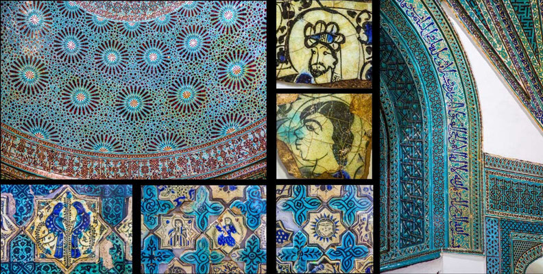 Bildband Tuerkei, Reisefuehrer, travel guide, Raimund Franken, Fayencen , osmanische Periode, Museum für Keramikarbeiten, Grosse Karatay Medrese, Konya