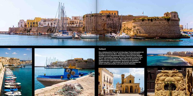 Bildband Apulien, Italien, Raimund Franken, Gallipoli