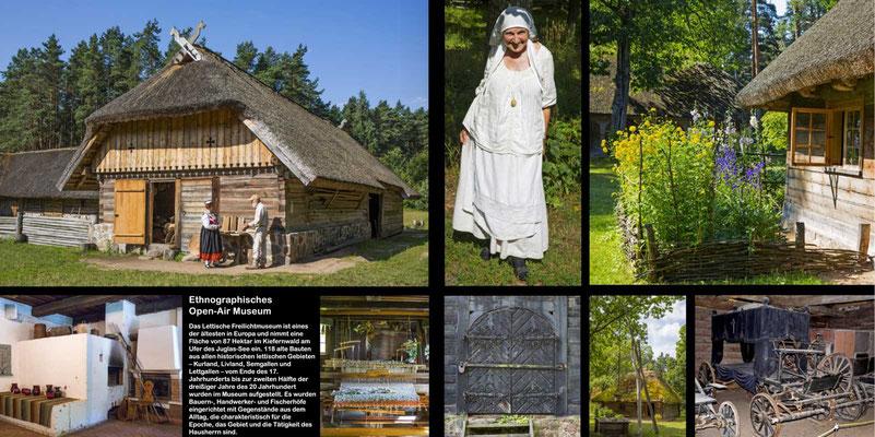 Bildband Baltikum, Estland, Lettland, Litauen, Raimund Franken, Ethnologisches Open-Air-Museum in  Lettland