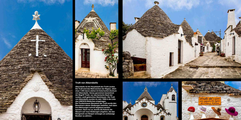 Bildband Apulien, Italien, Reisefuehrer, Reisebildband, Guide, Raimund Franken, Trulli von Alberobello