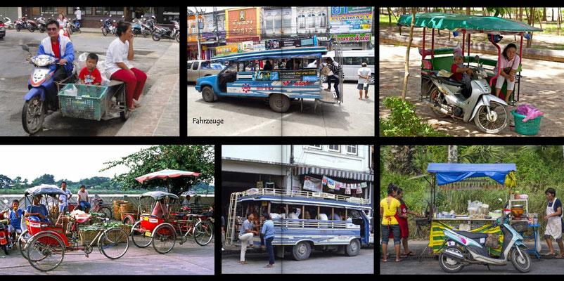 Bildband Suedthailand, Thailand, Reisefuehrer, Reisebildband, Travel Guide, Raimund Franken, Verkehrsmittel