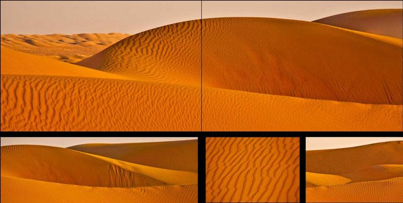 Bildband Oman, Reisefuehrer, travel guide, Reisebildband, Raimund Franken, Sandduenen, Wahiba Sands, Wueste