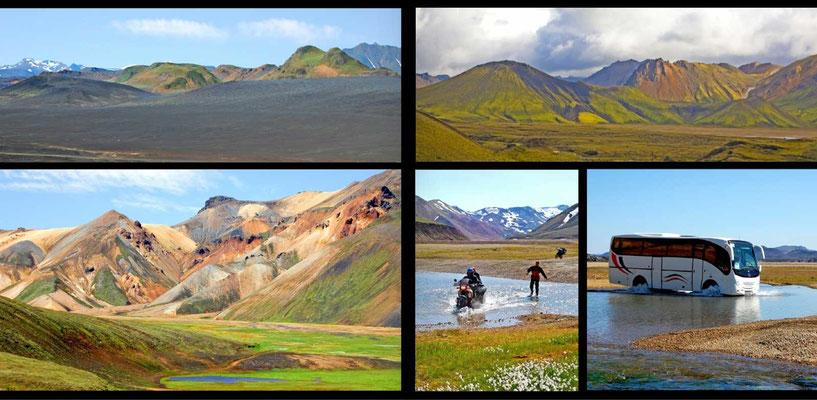 Bildband Island, Iceland, Raimund Franken, Landmannalaugar