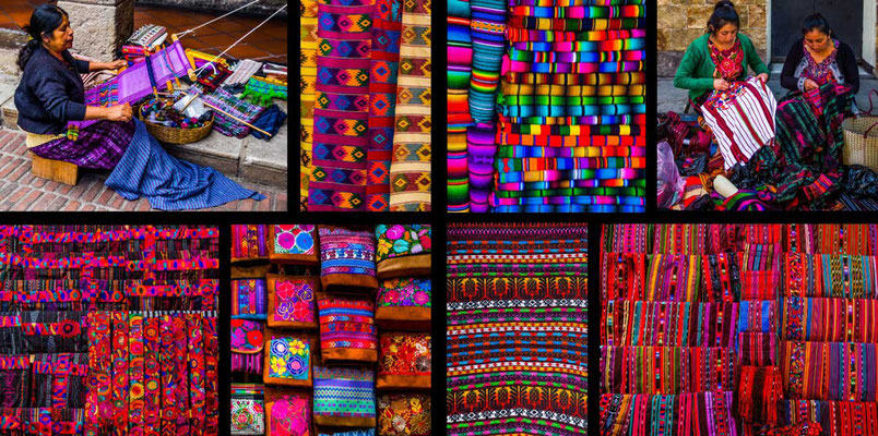 Bildband Guatemala, Reisefuehrer, Reisebildband, Raimund Franken, Webhandwerk der Maya