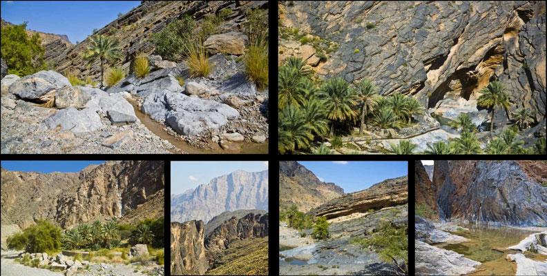 Bildband Oman, Reisefuehrer, travel guide, Reisebildband, Raimund Franken,  Al-Hadjar-Gebirge