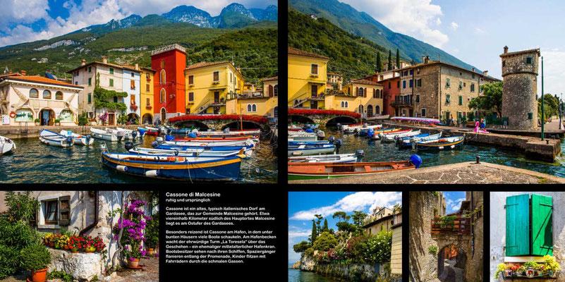 Gardasee - Reise-Bildband Tessin, Lombardei, Venetien durch die Schweiz und Oberitalien - vom Gotthardpass nach Venedig