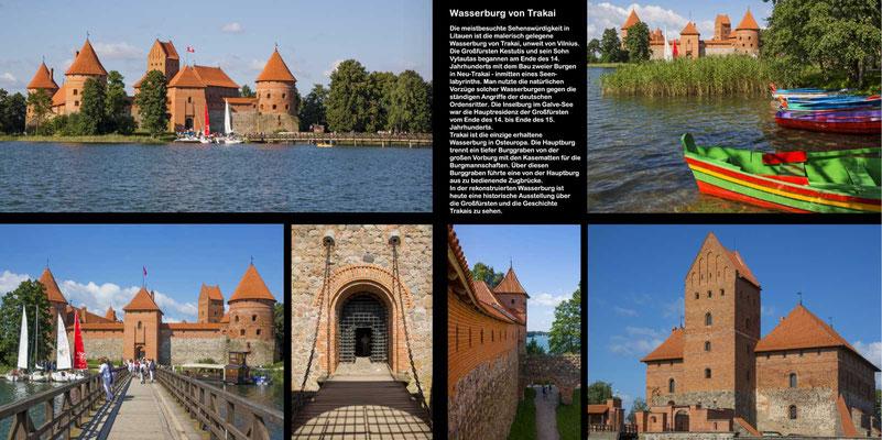 Bildband Baltikum, Estland, Lettland, Litauen, Raimund Franken, Wasserburg Trakai