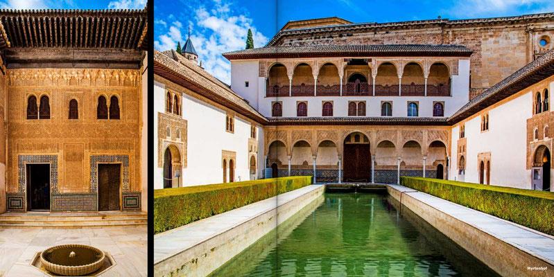 Bildband Andalusien, Reisefuehrer, Reisebildband, Guide, Raimund Franken, Alhabra in Granada