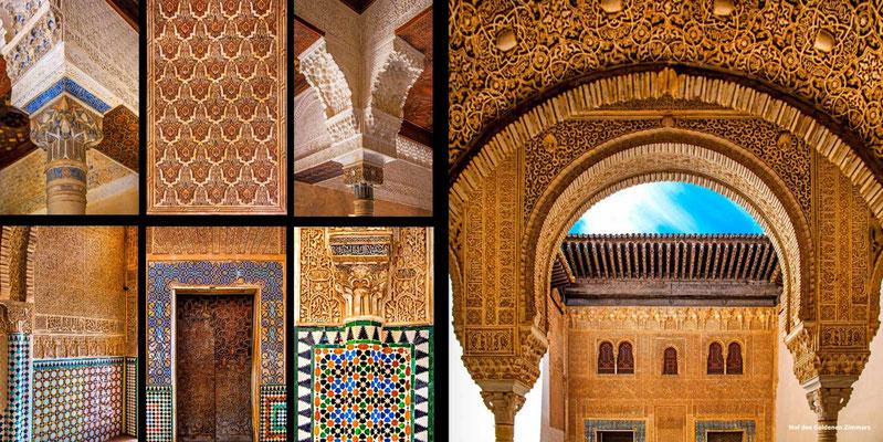 Bildband Andalusien, Raimund Franken, Alhambra in Granada