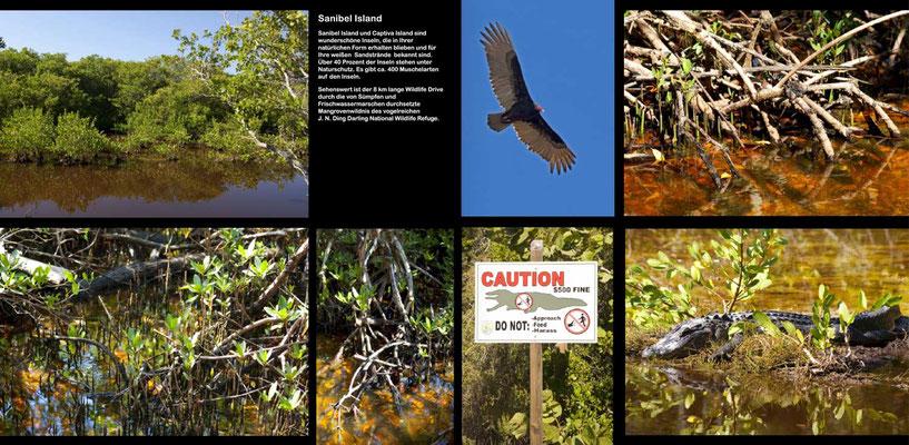Bildband Florida, USA, Raimund Franken,  Ding Darling National Wildlife Refuge