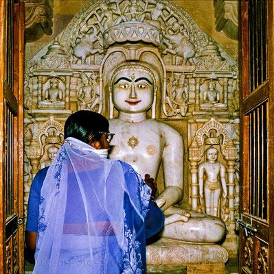 Bildband, Rajasthan, Indien, Goldenes Dreieck, Reisefuehrer, travel guide, Foto, Raimund Franken, Jain Tempel