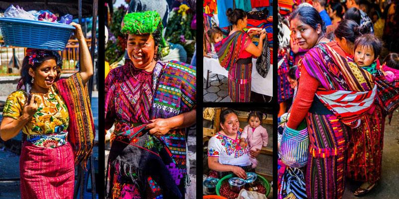 Bildband Guatemala, Reisefuehrer, Reisebildband, Raimund Franken, indigene Märkte