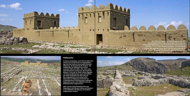 Bildband Tuerkei, Reisefuehrer, travel guide, Raimund Franken, Hattuscha, antike Hauptstadt der Hethiter