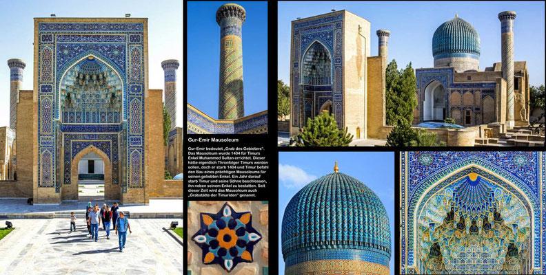 Bildband Turkmenistan, Reisefuehrer, travel guide, Reisebildband, Raimund Franken, Samarkand