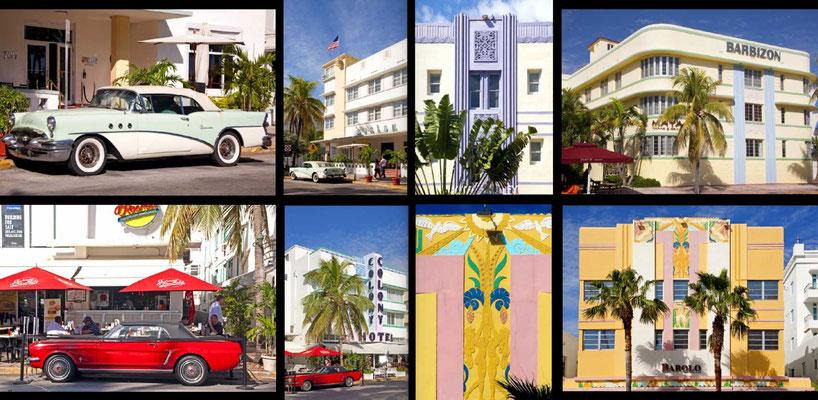 Bildband Florida, USA, Reisefuehrer, travel guide, Raimund Franken, Miami Ocean Drive