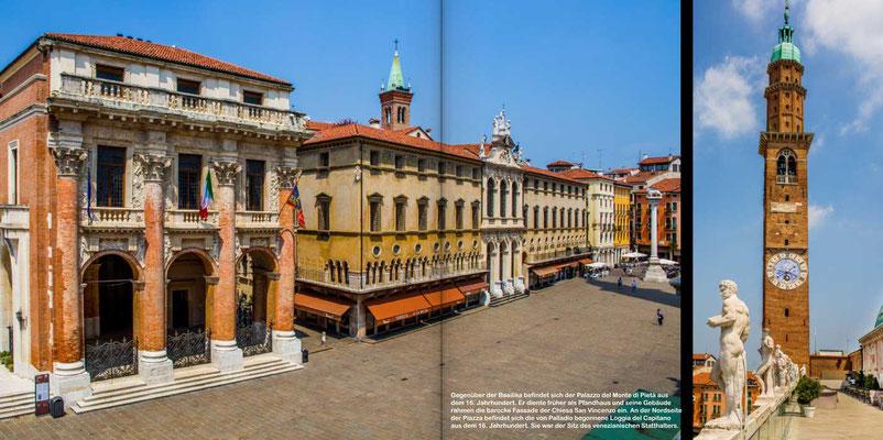Vicenza - Reise-Bildband Tessin, Lombardei, Venetien durch die Schweiz und Oberitalien - vom Gotthardpass nach Venedig