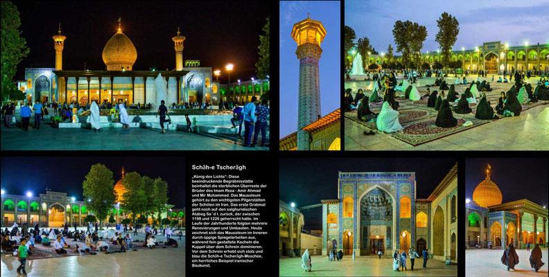 Bildband Iran, Reisefuehrer, travel guide, Reisebildband, Raimund Franken, Moschee und Mausoleum, Schah Tscheragh, Shiraz