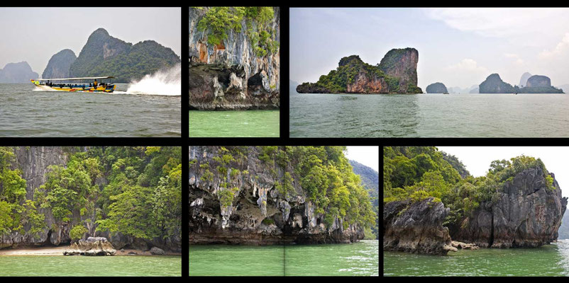 Bildband Suedthailand, Thailand, Reisefuehrer, Reisebildband, Travel Guide, Raimund Franken, Phang Nga Marine National Park