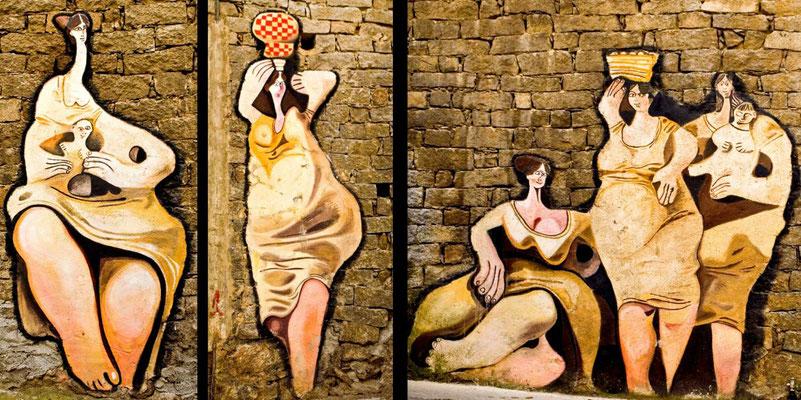 Bildband Sardinien, Raimund Franken, Murales in Orsolo