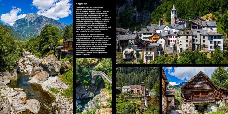 Maggia Tal - Reise-Bildband Tessin, Lombardei, Venetien durch die Schweiz und Oberitalien - vom Gotthardpass nach Venedig