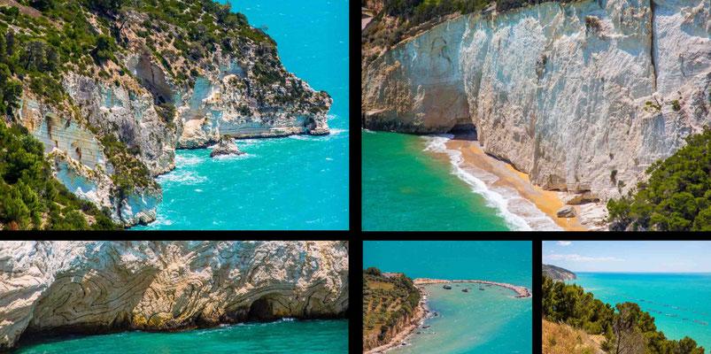 Bildband Apulien, Italien, Reisefuehrer, Reisebildband, Guide, Raimund Franken, traumhafte Kueste im Gargano
