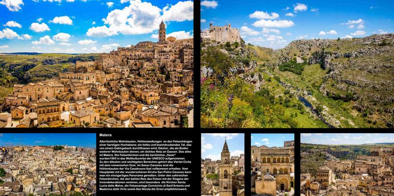 Bildband Apulien, Italien, Reisefuehrer, Reisebildband, Guide, Raimund Franken, Hoehlenstadt Matera