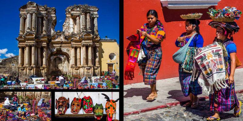 Bildband Guatemala, Reisefuehrer, Reisebildband, Raimund Franken, Antigua