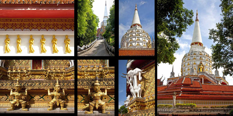 Bildband Suedthailand, Thailand, Raimund Franken, Wat Bang Riang