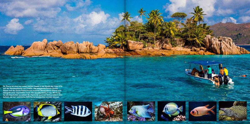 Bildband Seychellen, Reisefuehrer, Guide, Reisebildband, Raimund Franken, Mini-Insel St. Pierre auf Praslin
