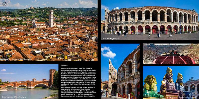 Verona- Reise-Bildband Tessin, Lombardei, Venetien durch die Schweiz und Oberitalien - vom Gotthardpass nach Venedig