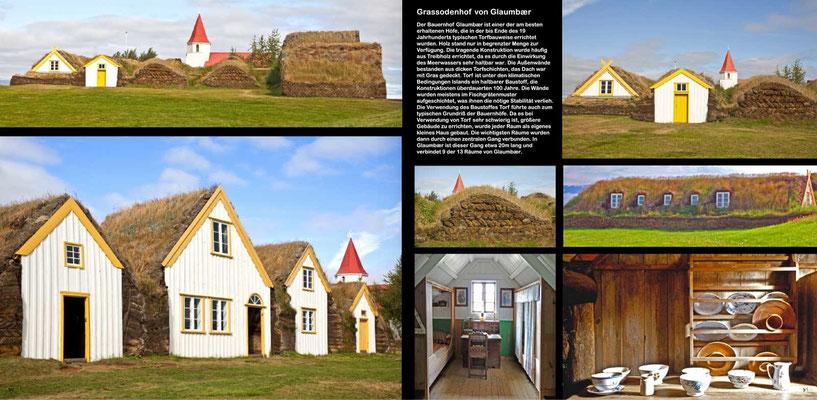 Bildband Island, Iceland, Raimund Franken, Grassodenhof von Glaumbaer