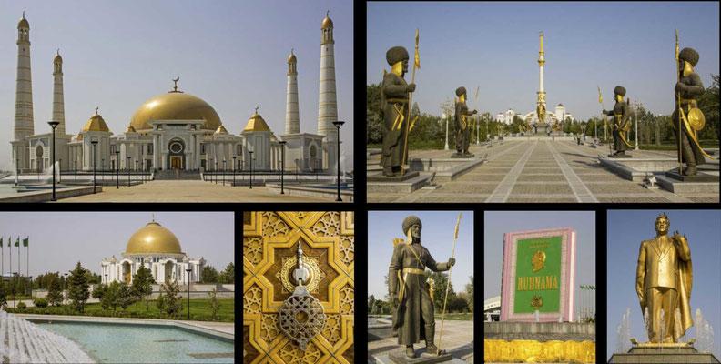 Bildband Turmenistan, Reisefuehrer, travel guide, Reisebildband, Aschgabat