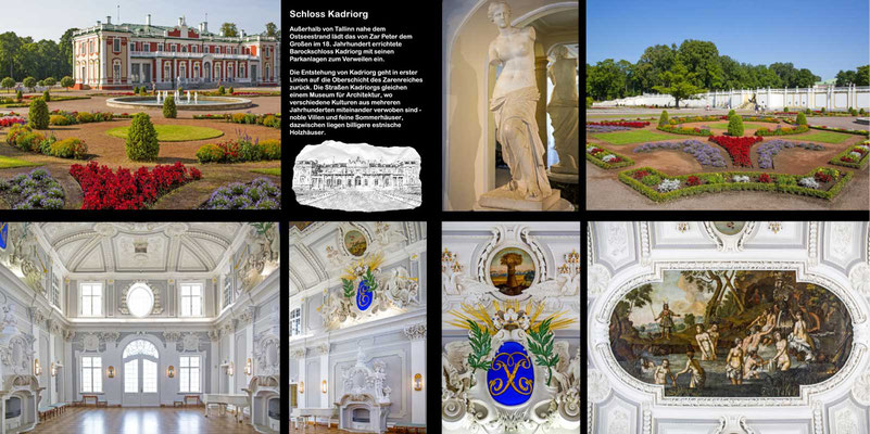 Bildband Baltikum, Estland, Lettland, Litauen, Reisefuehrer, Guide, Raimund Franken, Schloss Kadriorg
