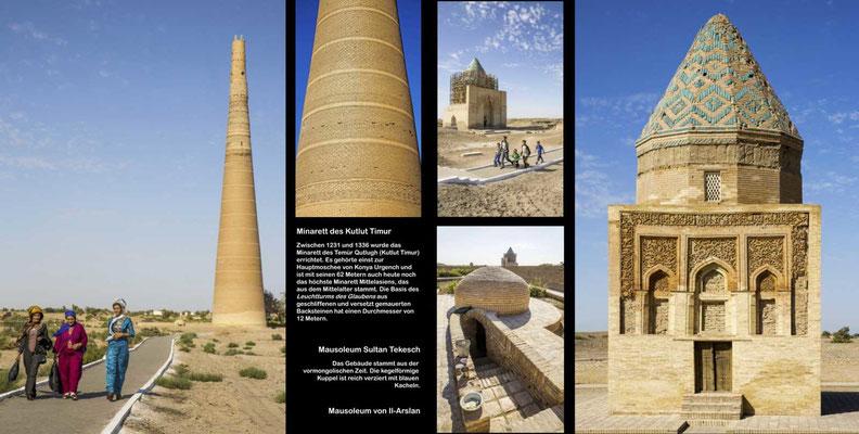 Bildband Turmenistan, Reisefuehrer, travel guide, Reisebildband, Konya Urgench