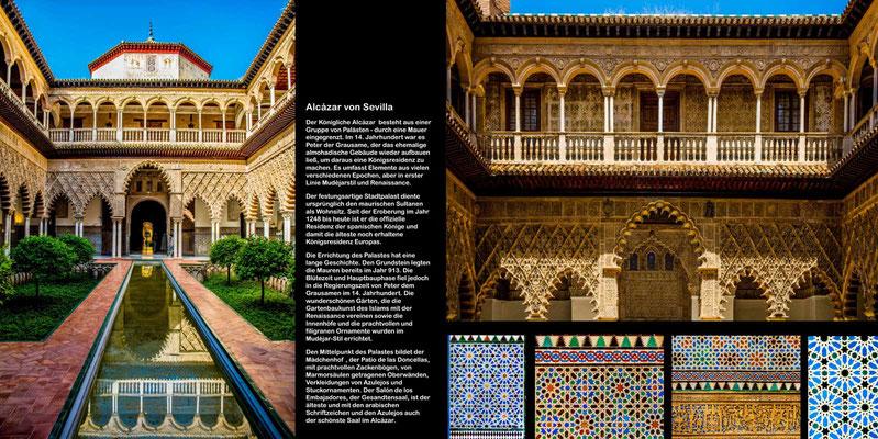 Bildband Andalusien, Reisefuehrer, Reisebildband, Guide, Raimund Franken, Alcazar von Sevilla