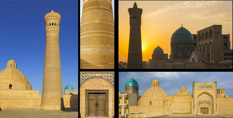 Bildband Turkmenistan, Reisefuehrer, travel guide, Reisebildband, Raimund Franken, Ensemble Poi Kalon, Buchara