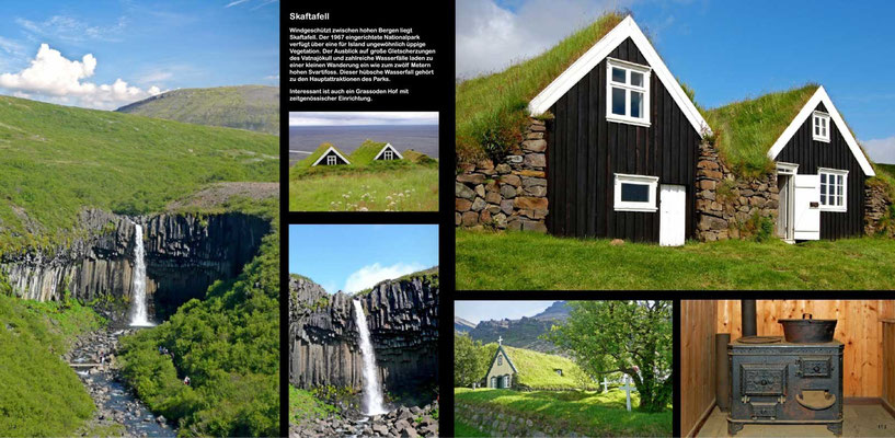 Island, Iceland, Bildband,  Reisebildband, Reisefuehrer, Guide,  Raimund Franken, Skaftafell Nationalpark