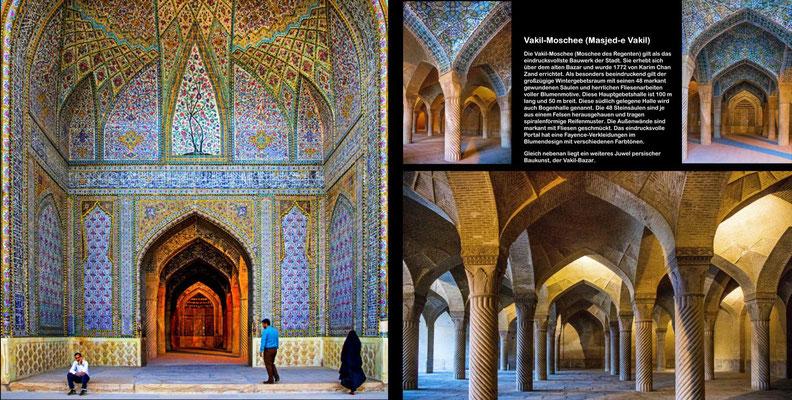 Bildband Iran, Reisefuehrer, travel guide, Reisebildband, Raimund Franken, Vakil-Moschee in Shiraz