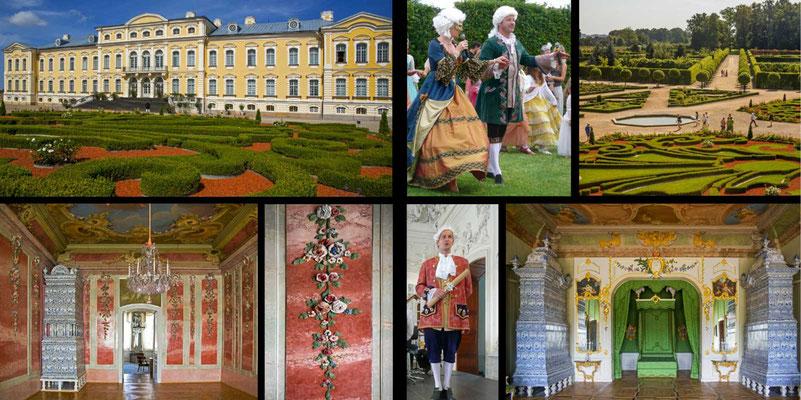 Bildband Baltikum, Estland, Lettland, Litauen, Reisefuehrer, Guide, Raimund Franken, Schloss Rundale, das Versailles des Baltikums
