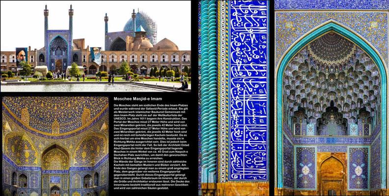 Bildband Iran, Raimund Franken, Moschee Masjid-e Imam, Isfahan
