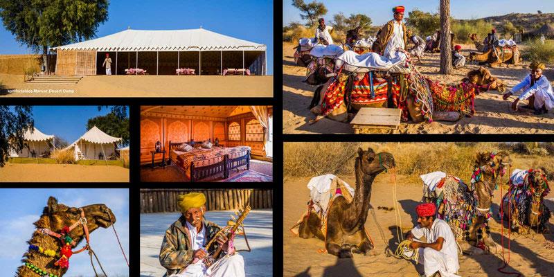 Bildband Rajasthan, Reisefuehrer, Reisebildband, Raimund Franken, in der Wueste Thar