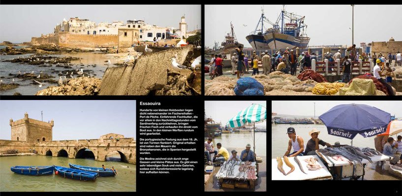 Bildband Marokko, Reisefuehrer, travel guide, Reisebildband, Raimund Franken, ESSAOUIRA