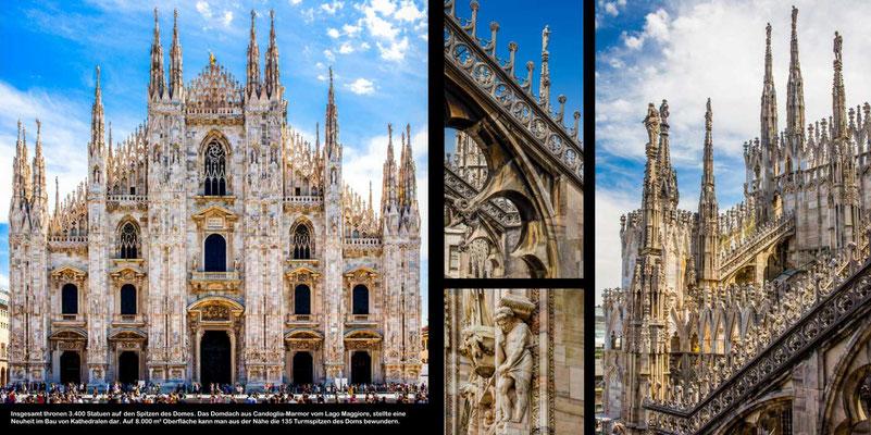 Mailand - Reise-Bildband Tessin, Lombardei, Venetien durch die Schweiz und Oberitalien - vom Gotthardpass nach Venedig