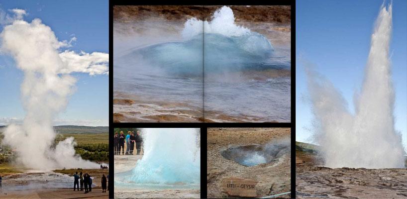 Bildband Island, Iceland, Raimund Franken, Strokkur Geysir