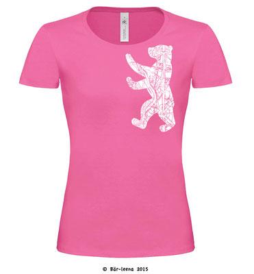 Berliner Bär T-Shirt - rosa