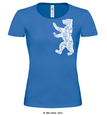 Berliner Bär T-Shirt - blau