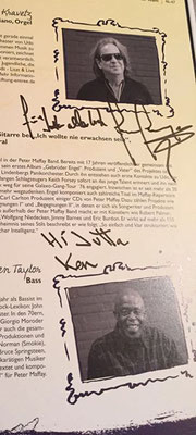Tabaluga Tournee - Autogramm & Statement